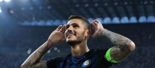 Serie A, il centravanti dell'Inter Icardi