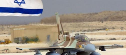 Una immagine dell'aviazione militare israeliana
