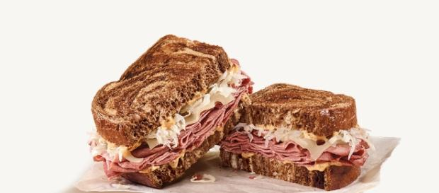Corned beef has been granted good status for this St. Patrick's Day.--arbys.com