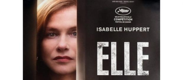 Isabelle Huppert in Elle, da domani in tutti i cinema italiani.