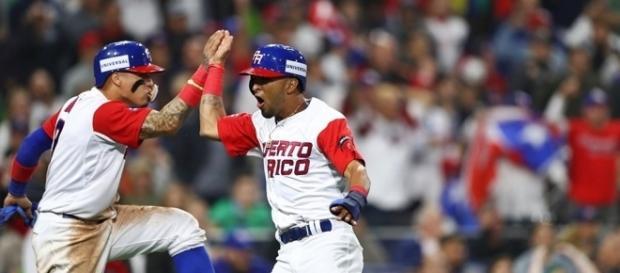 Puerto Rico también paso a semifinales del WBC en la edición de 2013. WSBC.com.