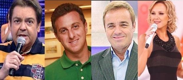 Salários de alguns apresentadores chegam na casa dos milhões de reais.