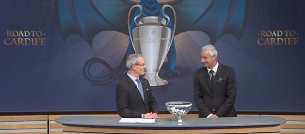 Sorteggio dei quarti di finale della Champions League
