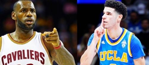 Lonzo Ball Gets Called Better Than LeBron - www.facebook.com/MJOAdmin