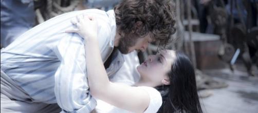 O casal será separado, por culpa de Thomas (Foto: Divulgação/TV Globo)