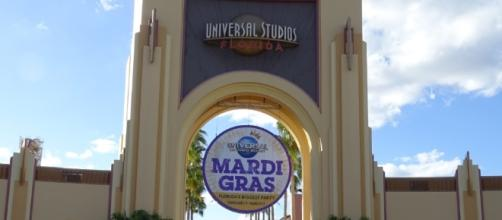 Univeral Studios Florida is hosting its annual Mardi Gras event. (Photo by Barb Nefer(