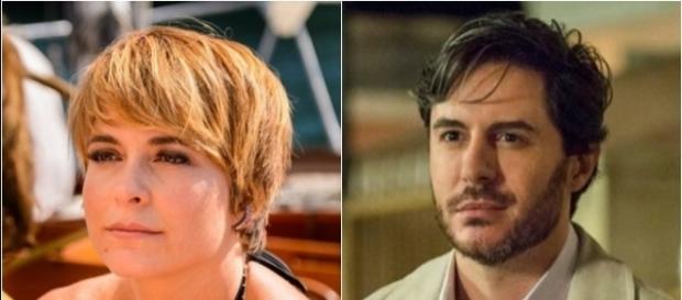 Helô e Augusto em A Lei do Amor, novela da Globo