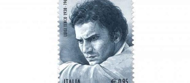 Il Francobollo commemorativo per Tenco