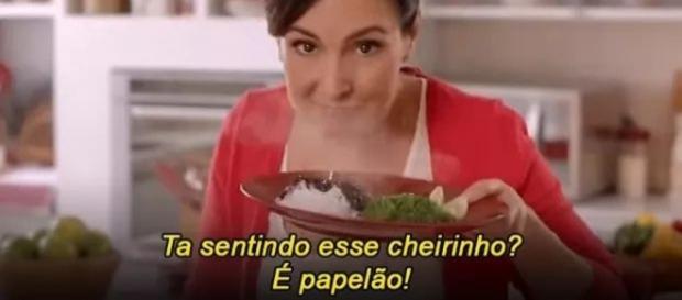 Internautas fizeram meme com Fátima Bernardes como garota-propaganda da Seara. Reprodução: Twitter