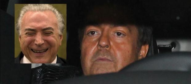 Michel Temer e Fausto Silva - Google