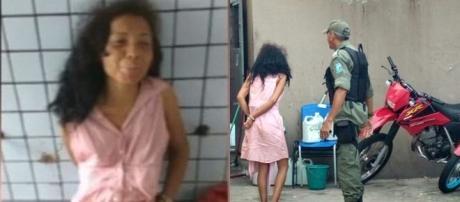 Joana D´Arc foi presa após mata o filho estrangulado