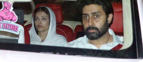 Aishwarya Rai in tears at her fathers funeral (Panasiabiz.com)