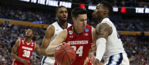 Bronson Koenig was relentless against Villanova: USA Today Sports.
