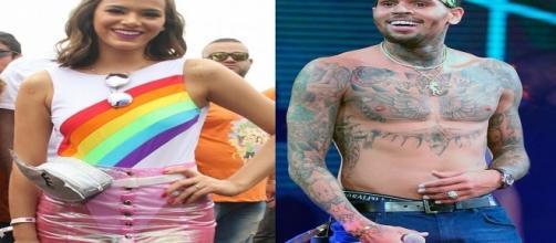 Chris Brown segue Bruna Marquezine