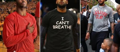 LeBron James, Carmelo Anthony among NBA players taking a stand on ... - si.com
