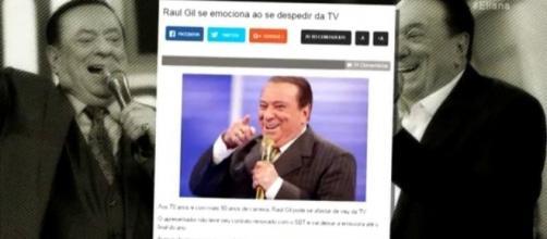 Raul Gil contou o que aconteceu no Programa da Eliana (Foto: Reprodução/SBT)