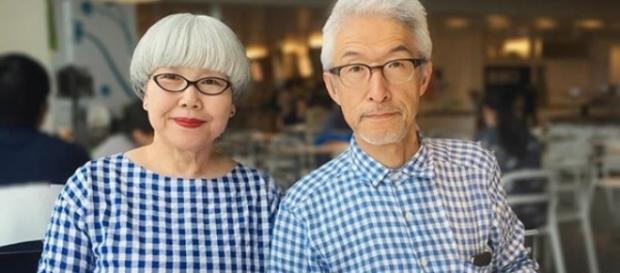 Casados há 37 anos, eles cuidam de todos os detalhes na hora de vestir. Reprodução: Instagram.