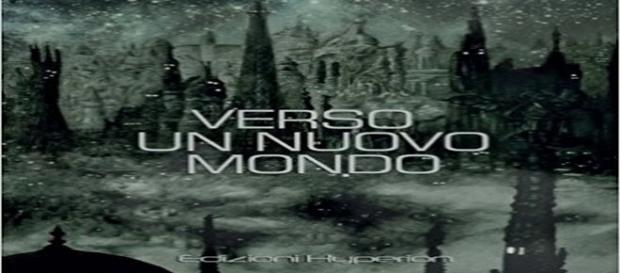 """cover libro """"Verso un nuovo mondo"""", premio letterario, vincitrice Serena Bertogliatti"""