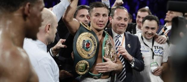 Gennady Golovkin tuvo la victoria más apretada de su carrera. dailymail.co.uk