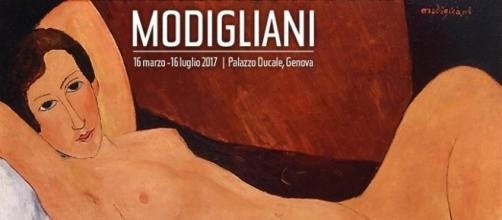 Amedeo Modigliani in mostra a Genova