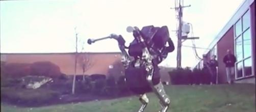 Boston Dynamics' Robot/Photo via screenshot, jurvetson YouTube