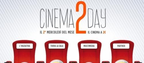 Cinema2Day per andare al cinema a 2 euro.