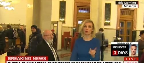 Russian offical on CNN, via YouTube