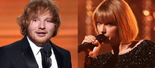 Taylor Swift Is More Excited Over Ed Sheeran Winning Song of the ... - eonline.com