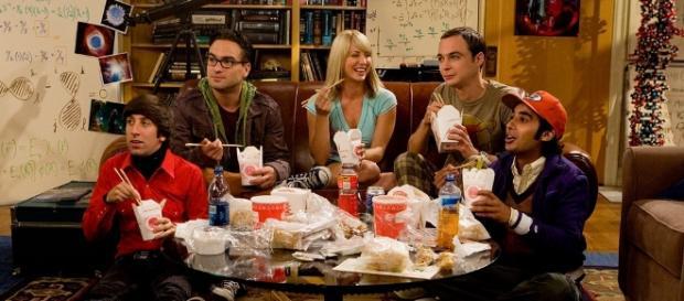 El cast original de The Big Bang Theory.