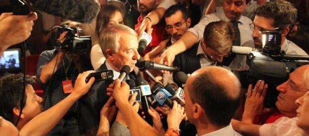 L'ex sindaco di Milano, Giuliano Pisapia
