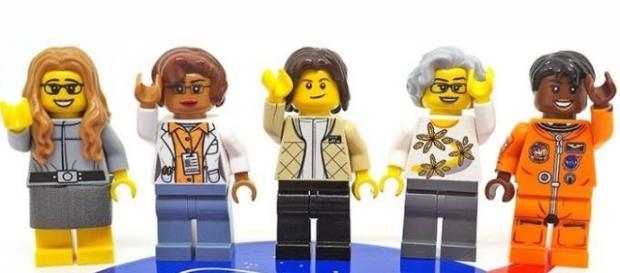 Miniaturas LEGO das mulheres da NASA