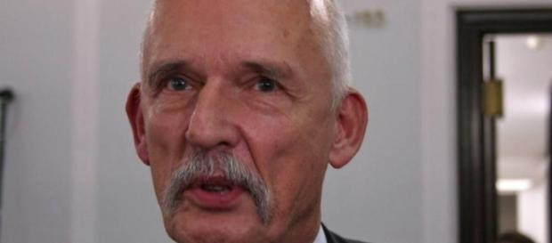 O deputado polonês Janusz Korwin-Mikke