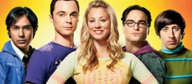 Parte do elenco de The Big Bang Theory