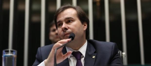 Rodrigo Maia (DEM-RJ) tem pressa para aprovar a reforma da previdência na Câmara dos Deputados (Foto: Ailton Freitas Agência O Globo)