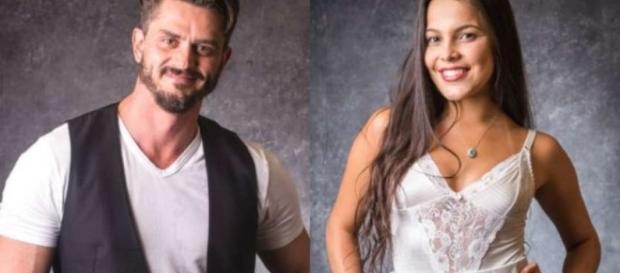 Romance do casal divide opinião dos telespectadores