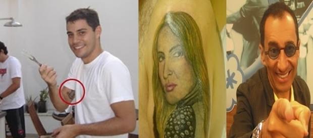Tatuagens que alguns famosos fizeram
