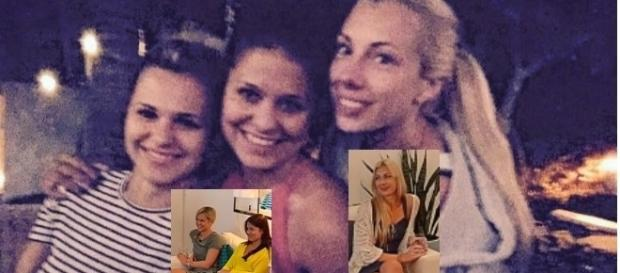 v.l. Sabrina, Julia und Janika bekamen keine Rose / Fotos: privat, RTL