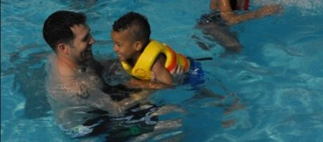 New research shows that children with autism are 160 more times likely to die from drowning / USAG-Humphreys, Flickr CC BY-SA 2.0