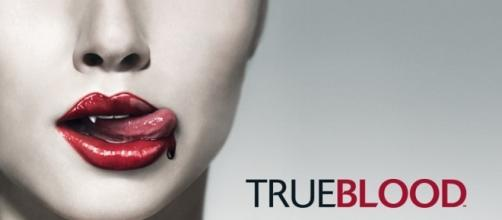 """""""True Blood"""" é uma da séries de TV com vampiros"""