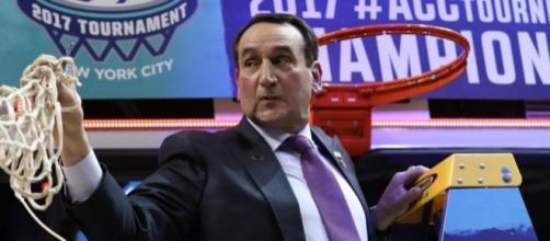 Coach K won't be cutting down nets this season following a Sunday loss - nj.com