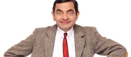 L'attore Rowan Atkinson nel ruolo di Mr. Bean