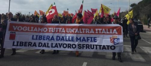 Locri: manifestazione contro le Mafie