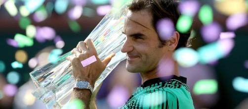 Roger Federer vainqueur à Indian Wells remporte son 90e trophée