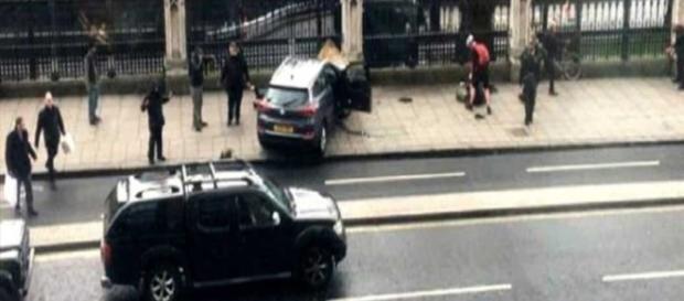 Immagine dell'attentato di Londra