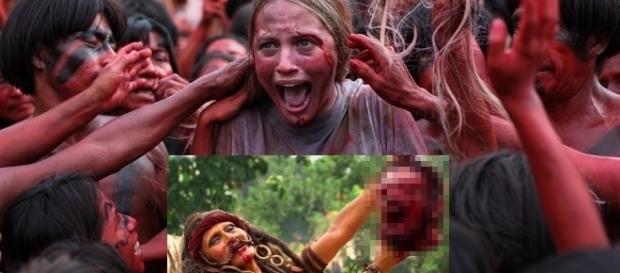 """Blutige Szenen aus """"The Green Inferno"""" von Eli Roth - Uncut derzeit auf Sky / Fotos: Universal"""