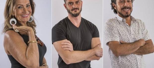 """Ieda, Marcos e Rômulo estão na berlinda e na terça-feira (21) um deles deixará o """"BBB17"""""""