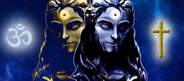 Krishna und Christus im Vergleich
