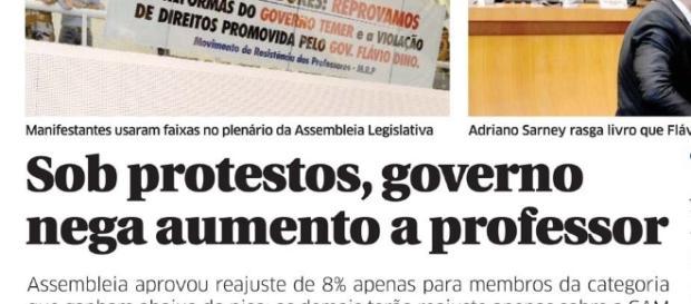 O governo é omisso diante dos direitos cívicos