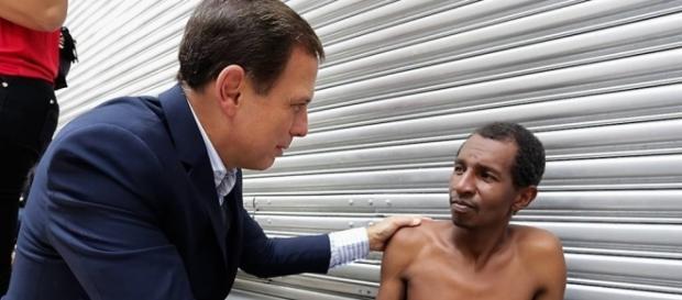 Programa de João Doria empregará 20 mil moradores de rua (Foto: Reprodução)