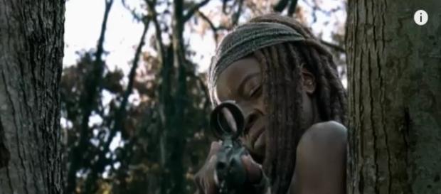 The Walking Dead episode 15,season 7 screenshot via Andre Braddox